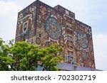 central university city campus...   Shutterstock . vector #702302719