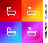 bathtub four color gradient app ...