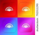 fan four color gradient app...