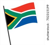 flag of south africa   south... | Shutterstock .eps vector #702315199