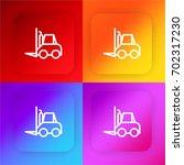 forklift four color gradient...