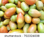 Long Green Tomatoes. Tomatoes...