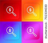 dollar four color gradient app...