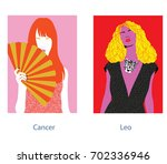 Cancer And Leo Woman Horoscope...