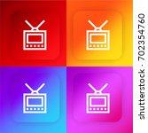 monitor four color gradient app ...