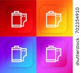film roll four color gradient...