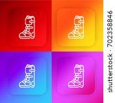 boot four color gradient app...