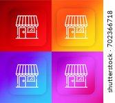store four color gradient app...