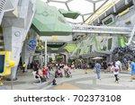 singapore   july 8 2017  ... | Shutterstock . vector #702373108