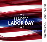 Happy Labor Day Poster Vector...