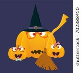 vector illustration cute and... | Shutterstock .eps vector #702388450