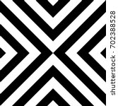 seamless pattern with striped... | Shutterstock .eps vector #702388528