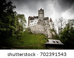 bran   may 8  bran castle on... | Shutterstock . vector #702391543