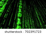 background in a matrix style... | Shutterstock . vector #702391723