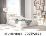 inspiration of white minimalist ...   Shutterstock . vector #702392818