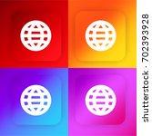 world web four color gradient...
