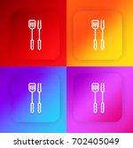 spatula four color gradient app ...