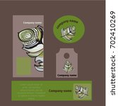 branding identity template...   Shutterstock .eps vector #702410269