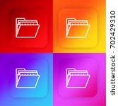 folder four color gradient app...