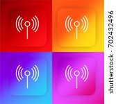 wifi four color gradient app...