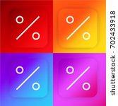 percent four color gradient app ...