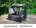 the ignacy lukasiewicz museum... | Shutterstock . vector #702436714