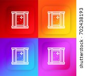 window four color gradient app...