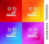 sunbed four color gradient app...