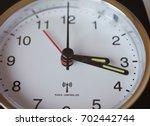 radio controlled clock... | Shutterstock . vector #702442744