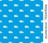 minibus taxi pattern repeat... | Shutterstock .eps vector #702445066