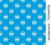 steering wheel of taxi pattern... | Shutterstock .eps vector #702446956