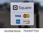 kokomo   circa august 2017 ... | Shutterstock . vector #702447724