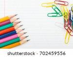 back to school  1 september....   Shutterstock . vector #702459556