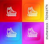 roller skate four color...