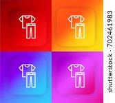 clothes four color gradient app ...