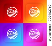 fields four color gradient app...