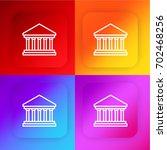courthouse four color gradient...