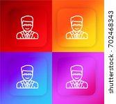 lawyer four color gradient app...