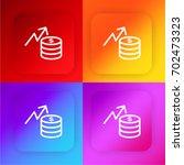 finances four color gradient...
