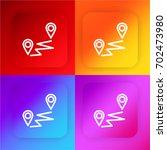 distance four color gradient...