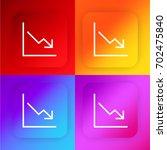 stats four color gradient app...