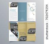 brochure design  brochure... | Shutterstock .eps vector #702479254