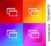 windows four color gradient app ...