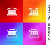 museum four color gradient app...