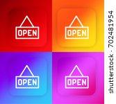 open four color gradient app...