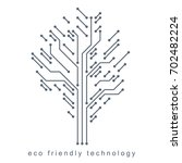 illustration of tree created... | Shutterstock . vector #702482224