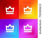 crown four color gradient app...