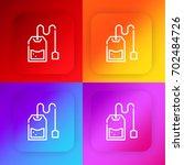 tea bag four color gradient app ...