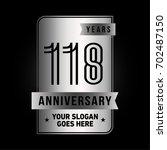 118 years anniversary design...