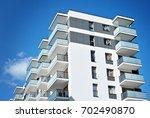 modern  luxury apartment...   Shutterstock . vector #702490870